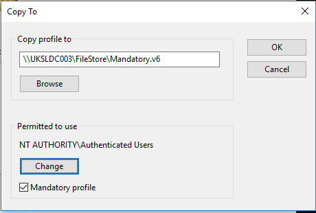 Creating a mandatory profile on Windows 10 1803 – JAMES-RANKIN COM