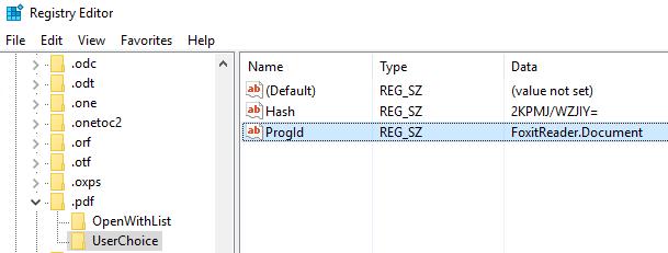 Per-user FTAs in Windows 10, Server 2012 R2 and Server 2016