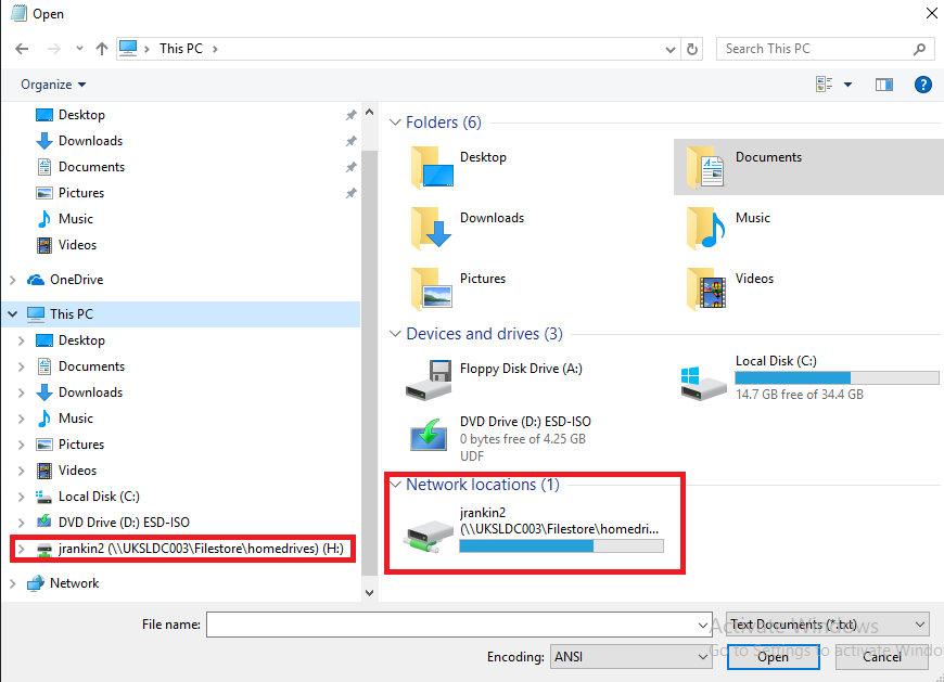 Dealing with network drive mappings in Citrix environments